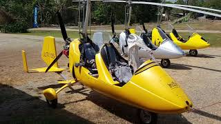 Gyrocopter Girl flying with Annabel Van Westerop Costa Rica 2018 03
