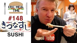 My Favorite Sushi in Japan - Eric Meal Time #148