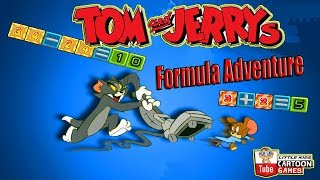 Tom And Jerry - Formula Adventure. Fun Tom and Jerry 2018 Games. Baby Games #LITTLEKIDS