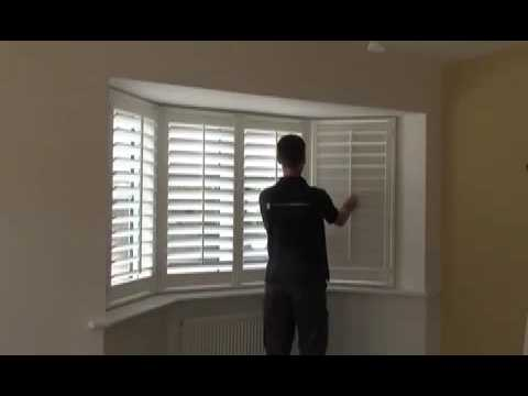 Measuring A Upvc Bay Window For DIY Shutters YouTube