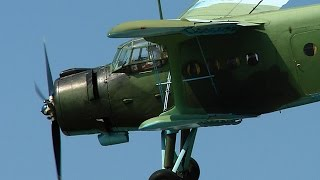 How to fly aerobatics on An-2
