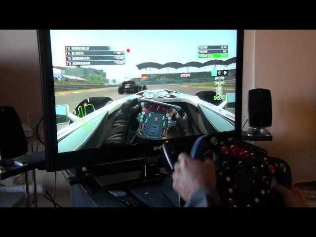 F1 2011 PS3. Prueba volante casero