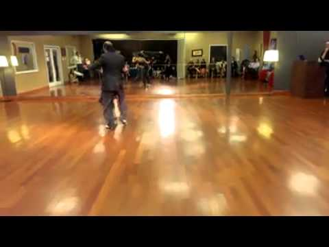 Nick and Diana performing Argentine Tango at Df Dance Studio