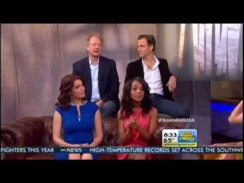 Scandal cast on GMA 5/14/13