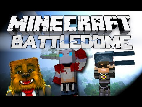 Minecraft Battledome! - w/SkyDoesMinecraft, Jerome, and More! #1: IT RETURNS!