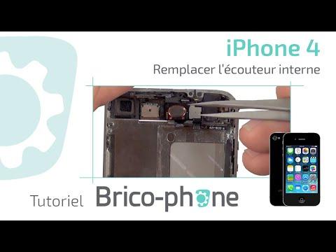 comment reparer ecouteur iphone