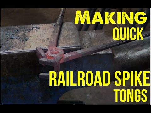Quick Railroad Spike Tongs Instructional Video