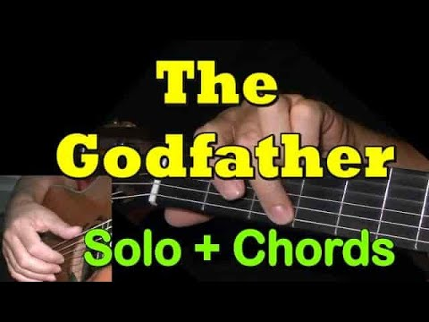 THE GODFATHER: Easy Guitar Lesson + TAB by GuitarNick