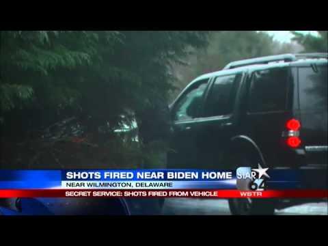 Secret Service: Shots fired outside Bidens'