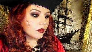 pirate Halloween costume Pirate Girl Costume Makeup