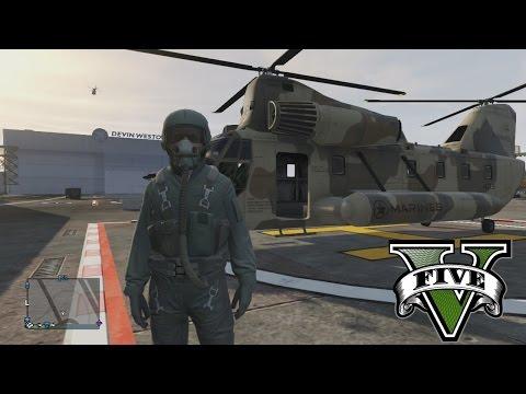 GTA 5 Online - El Helicóptero asesino, Un carro de Bomberos muy Rudo y Mass!!!