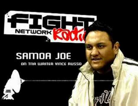 SAMOA JOE on FIGHT NETWORK RADIO