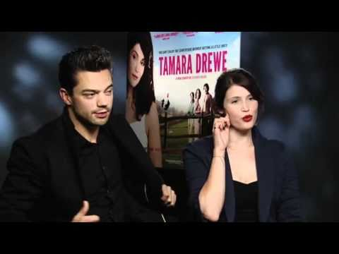 Gemma Arterton & Dominic Cooper chat to us about Tamara Drewe