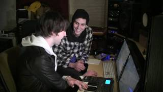 Producing with Reason Tutorial - Cobra Starship - in the studio with Reason