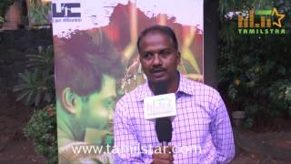 Kishore Kumar At Melnaattu Marumagan Movie Press Meet