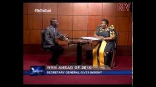 On the Spot: NRM Secretary General Justine Kasule Lumumba