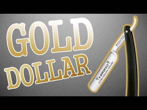 Опасная посылка из Китая #98: бритва Gold dollar