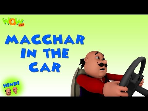 Macchar In The Car - Motu Patlu in Hindi WITH ENGLISH, SPANISH & FRENCH SUBTITLES thumbnail