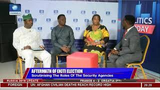 Ekiti Election: Observer Laud Security Agencies' Conduct  Politics Today 