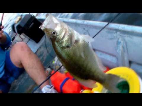 Extreme Lake Houston Crappie Fishing