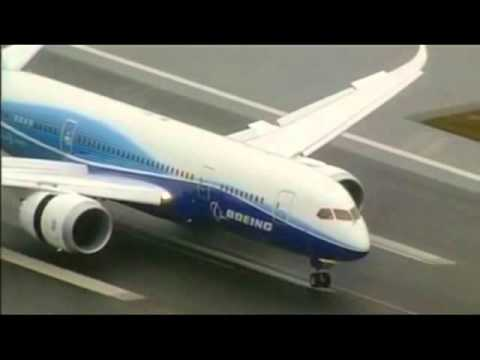 Boeing 787 Test Flight (Boeing Field) - Seattle, Washington