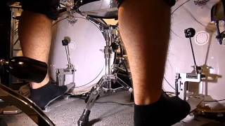 220 to 270 BPM Double Bass Drumming (HD)