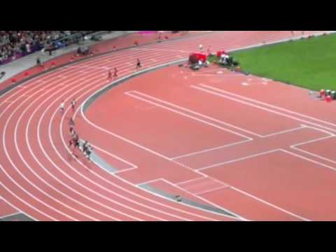 Mo Farah winning 10000 metres Olympic gold: electric atmosphere and  eventually hoarse fan