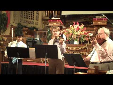 Trinity School (NYC) Opening All-School Chapel, 2009