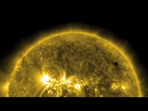 Venus Transit 2012 in High Definition | NASA SOHO SDO Sun Solar Spacecraft HD Video