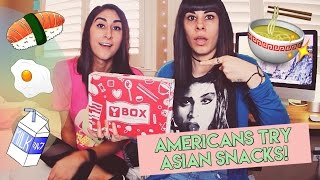 AMERICANS TRY ASIAN SNACKS!