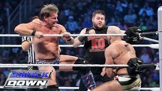 AJ Styles & Cesaro vs. Kevin Owens & Chris Jericho: SmackDown, 7. April 2016