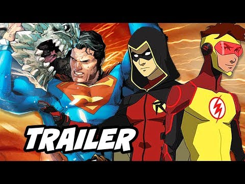 The Death Of Superman Movie Trailer and Young Justice Season 3 Episode Update thumbnail
