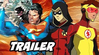 The Death Of Superman Movie Trailer and Young Justice Season 3 Episode Update