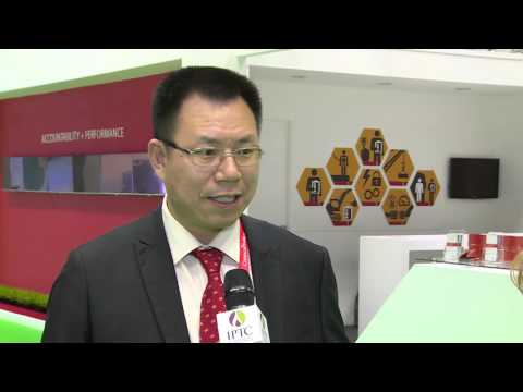Mike Deng, President, Middle East, LandOcean Energy Services, Qatar @IPTC 2015