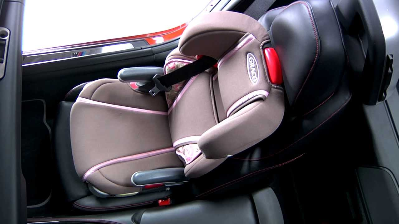 Bmw Z4 Child Restraint System Youtube