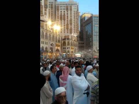 EID DI HARAM MACCAH SAUDI ARABIA