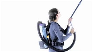 The Super Coach Pro Backpack Vacuum by Pro-Team