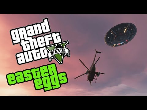 Best Easter Eggs Series - Grand Theft Auto V // Ep.55