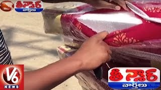 Duplicate Mattress Selling By Inserting Thermocol Sheets Inside Bed | Teenmaar News