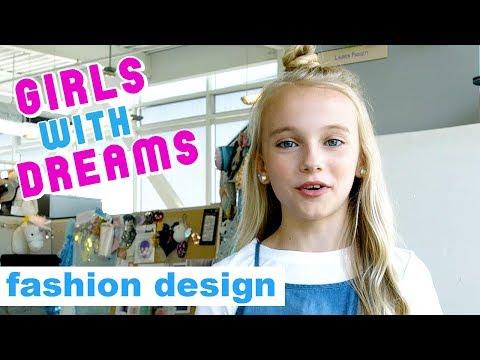 FASHION DESIGNER - GIRLS  WITH DREAMS