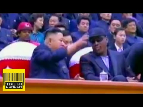 Harlem Globetrotters go to North Korea (with Dennis Rodman) - Truthloader