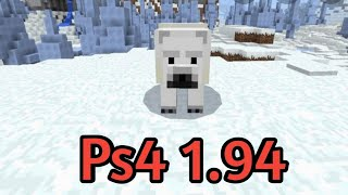 Minecraft How To Find Polar Bears! - Ps4 1.94!