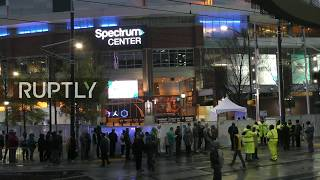 LIVE: Basketball fans arrive ahead of 68th NBA All-Star Game