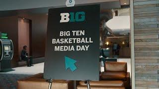 Men's Basketball Experiences Big Ten Media Day