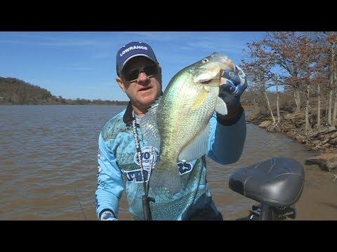 FOX Sports Outdoors PREVIEW #5 - 2018 Lake Eufaula, OK Crappie Fishing