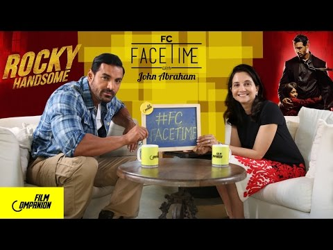 FaceTime with John Abraham | Rocky Handsome | Anupama Chopra