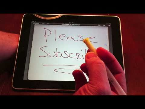 How to make a stylus for the iPad or iPhone