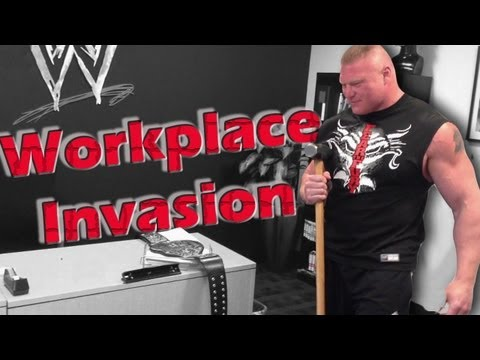Paul Heyman reveals footage of Brock Lesnar's workplace invasion at WWE headquarters: Raw, May 6, 20