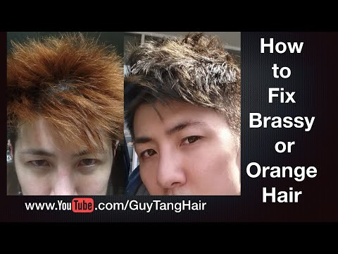 How to Fix Brassy or Orange Hair