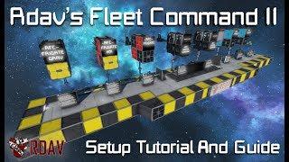 Rdav's Fleet Command MKII Tutorial & Guide [Space Engineers]